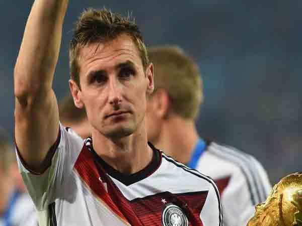 Miroslav Klose- Cầu thủ ghi nhiều bàn thắng nhất World Cup